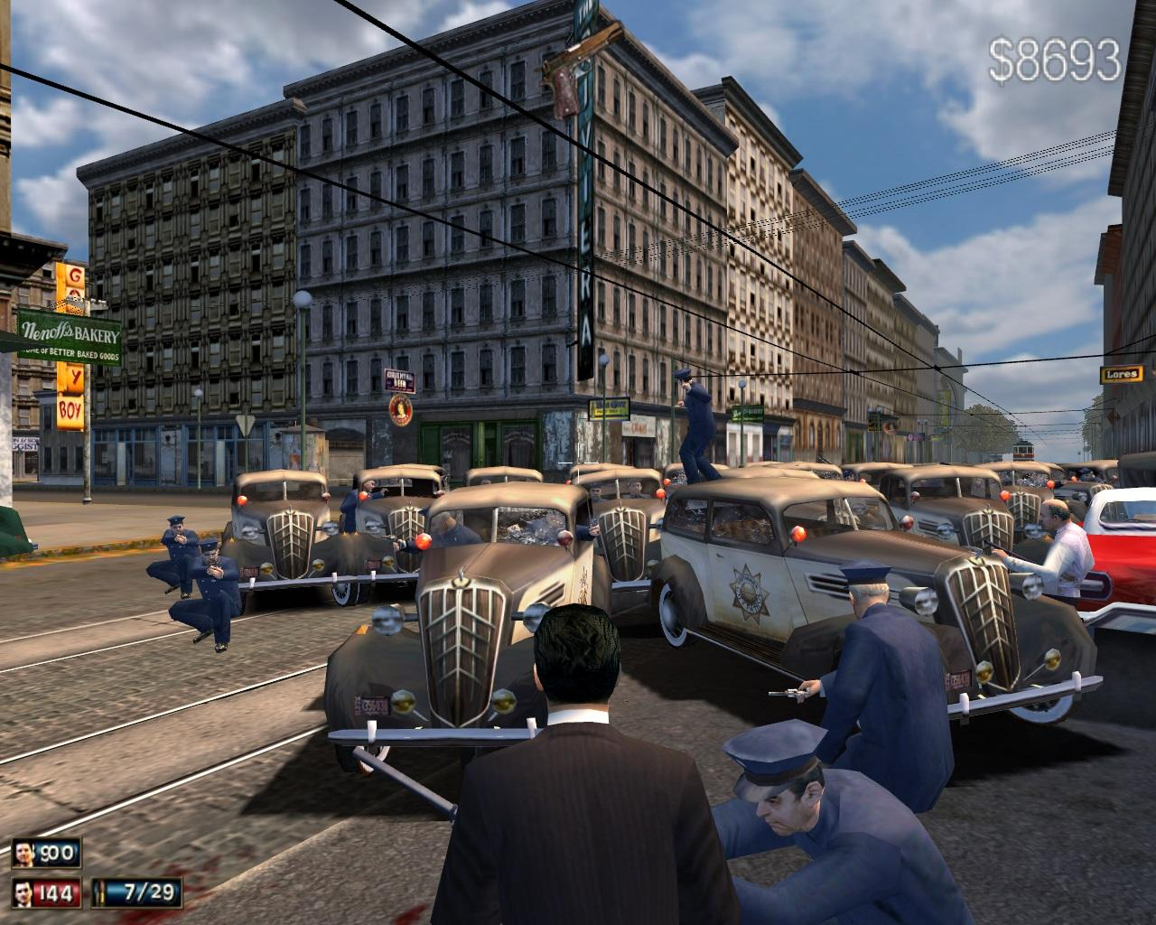 Alive Bars Mod v.28.19 - Добавление нового контента в Mafia 1