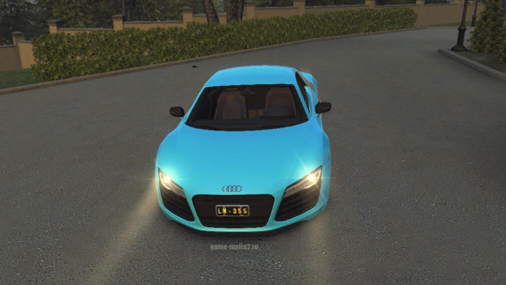 Машина Audi R8 V10 Plus Coupe для Mafia 2