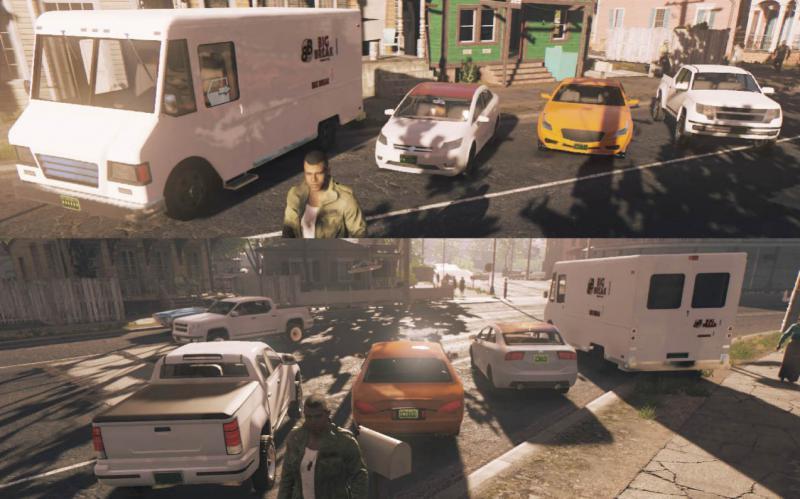 Современные машины в Mafia 3