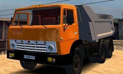КамАЗ 55111 в Mafia 1