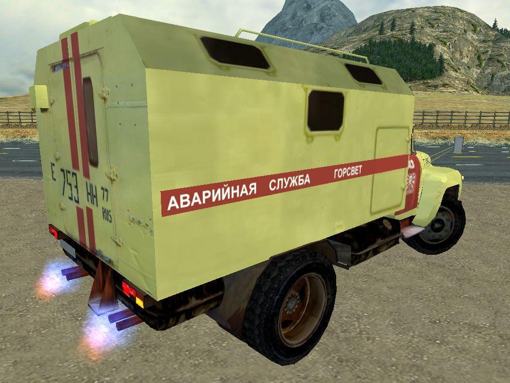"""ЗиЛ 130 """"Аварийная"""" в Mafia 1"""