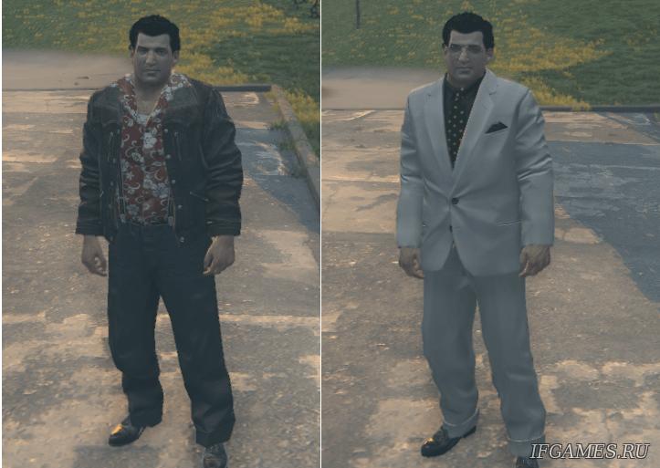 Мод joe's new clothes on joe's adventures dlc для Mafia 2