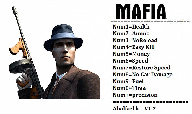 Трейнер/Trainer (+11) [1.2] [Abolfazl.k] для Mafia 1