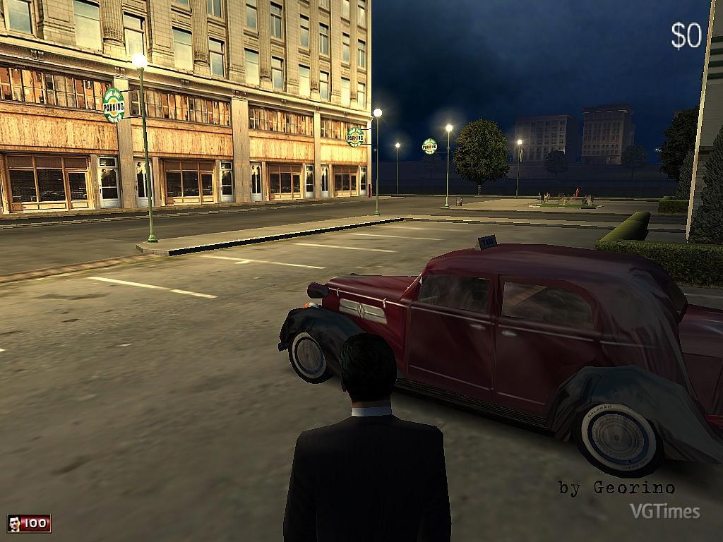 Уличное освещение (style M2) в Mafia 1
