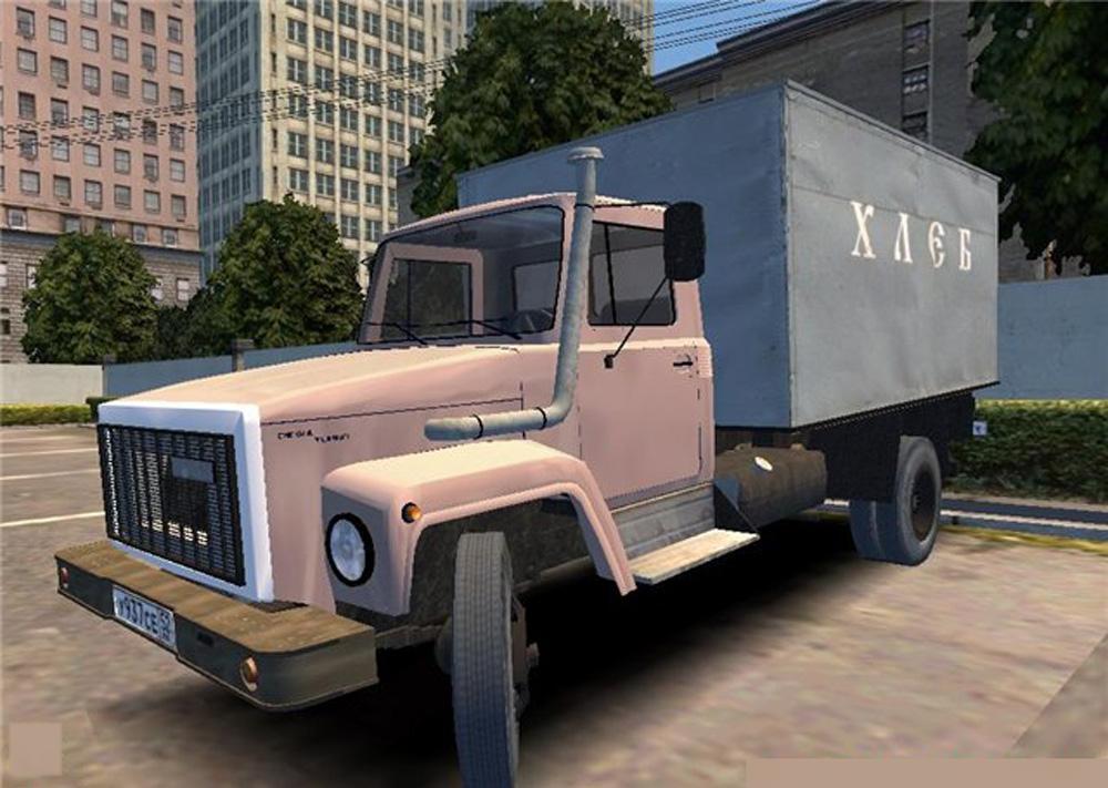 Газ 3309 в Mafia 1