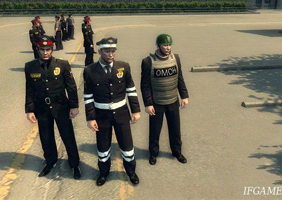 Мод русские полицейские для Mafia 2