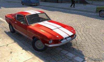 Ford Mustang Shelby GT 500 1967  для Mafia 2