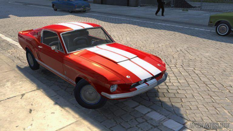 Ford Mustang Shelby GT 500 1967  для Mafia 2