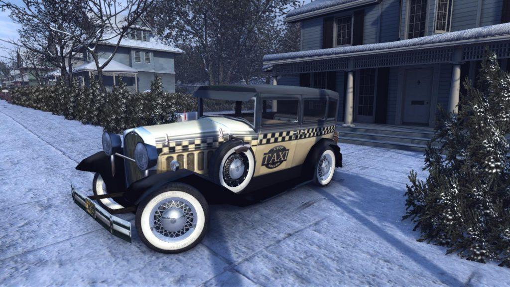 Falconer Yellowcar для Mafia 2