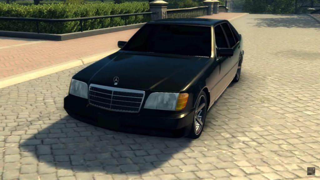 Mercedes-Benz S600 W140 для Mafia 2