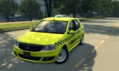 Renault Logan такси для Mafia 2