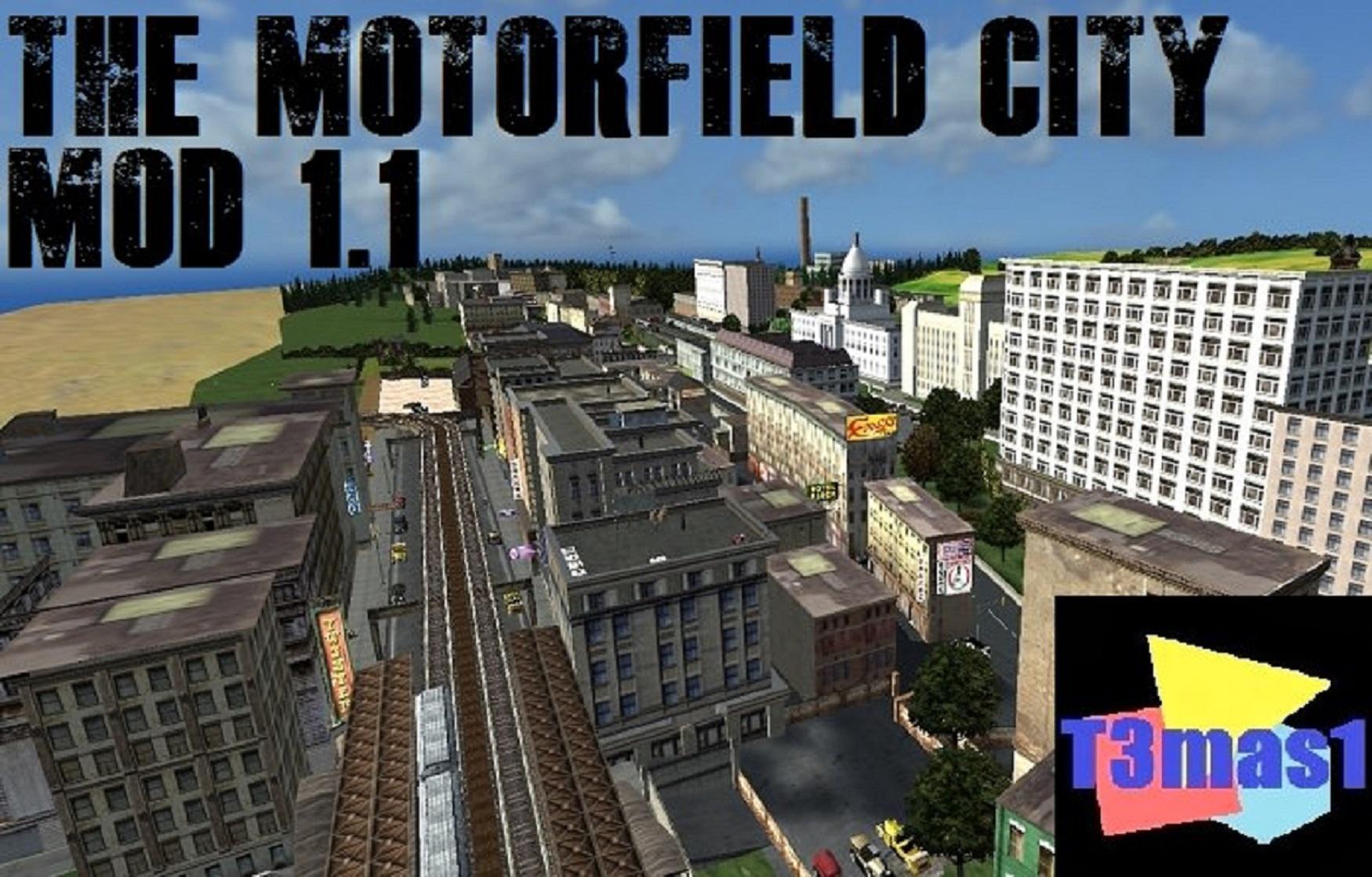 The Motorfield City Mod 1.1 в Mafia 1