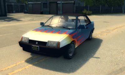 Огненная ВАЗ 2108 для Mafia 2