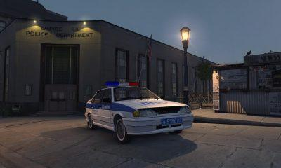 Полиция на ВАЗ 2115 для Mafia 2