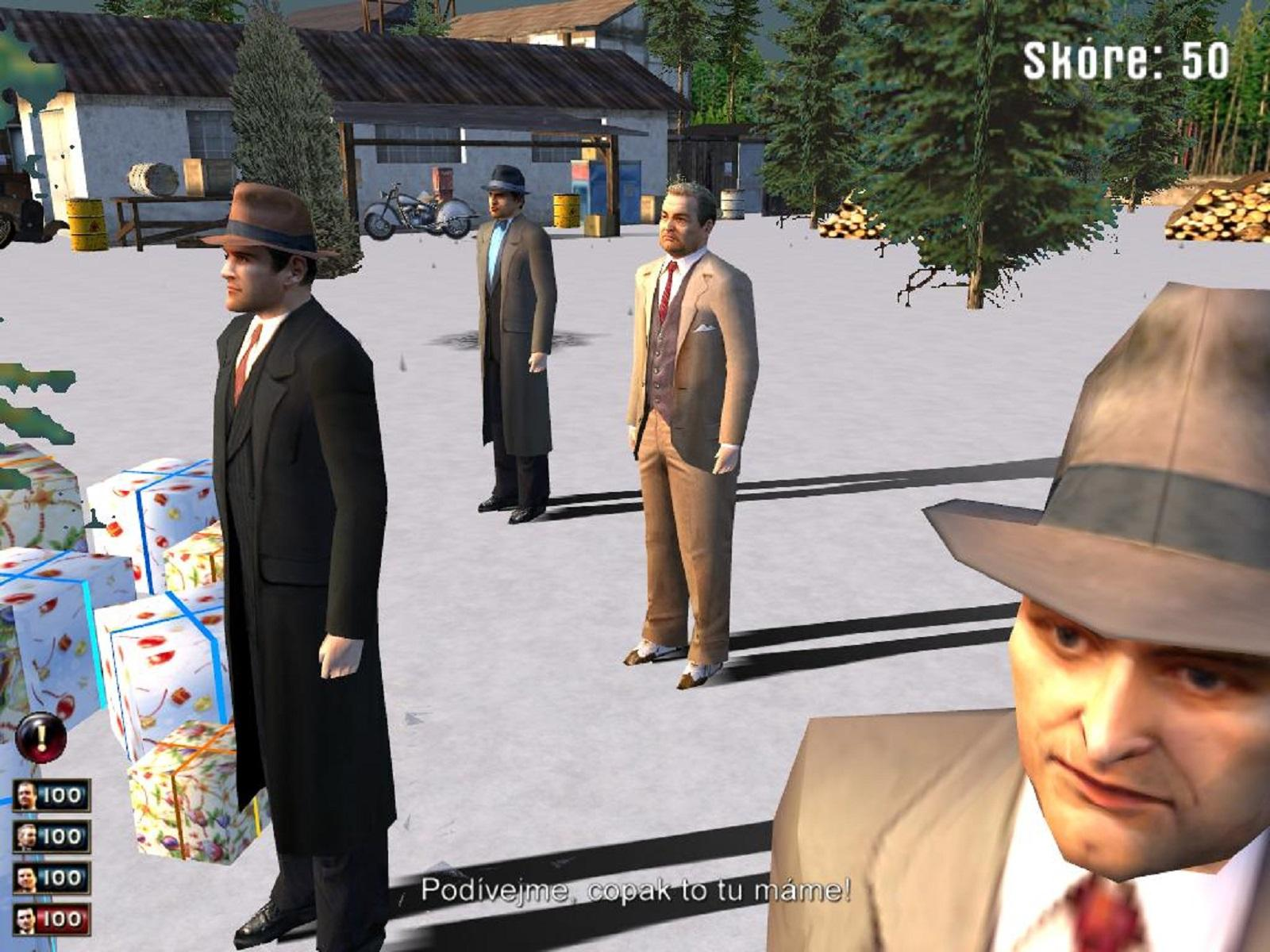 Xmas Battle мод в Mafia 1