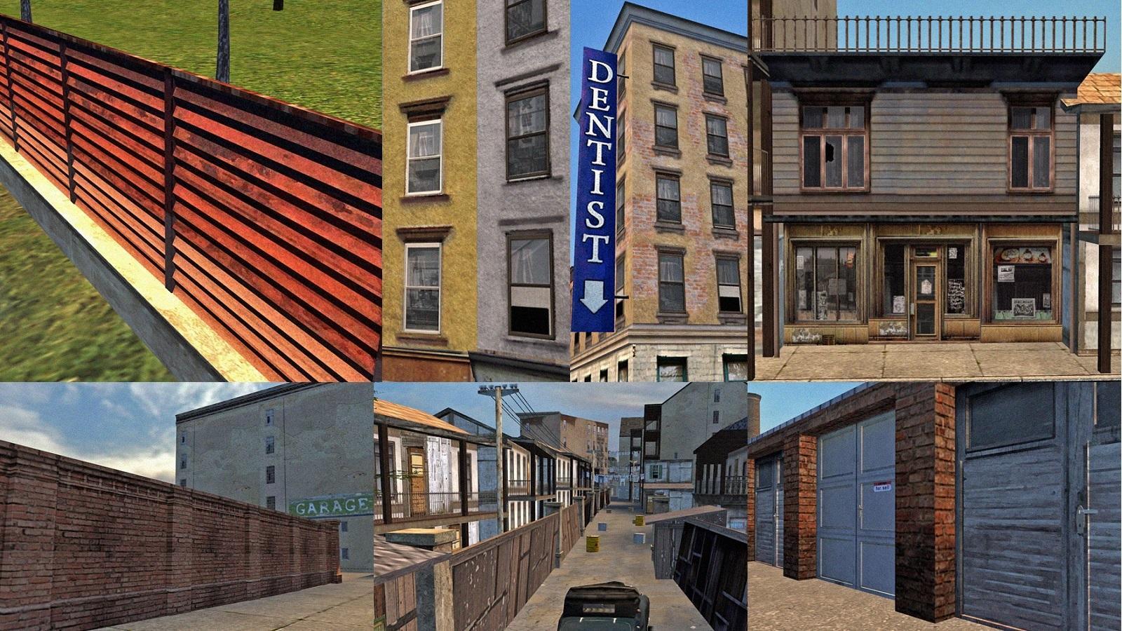 Мод новых зданий 9.0 в Mafia 1
