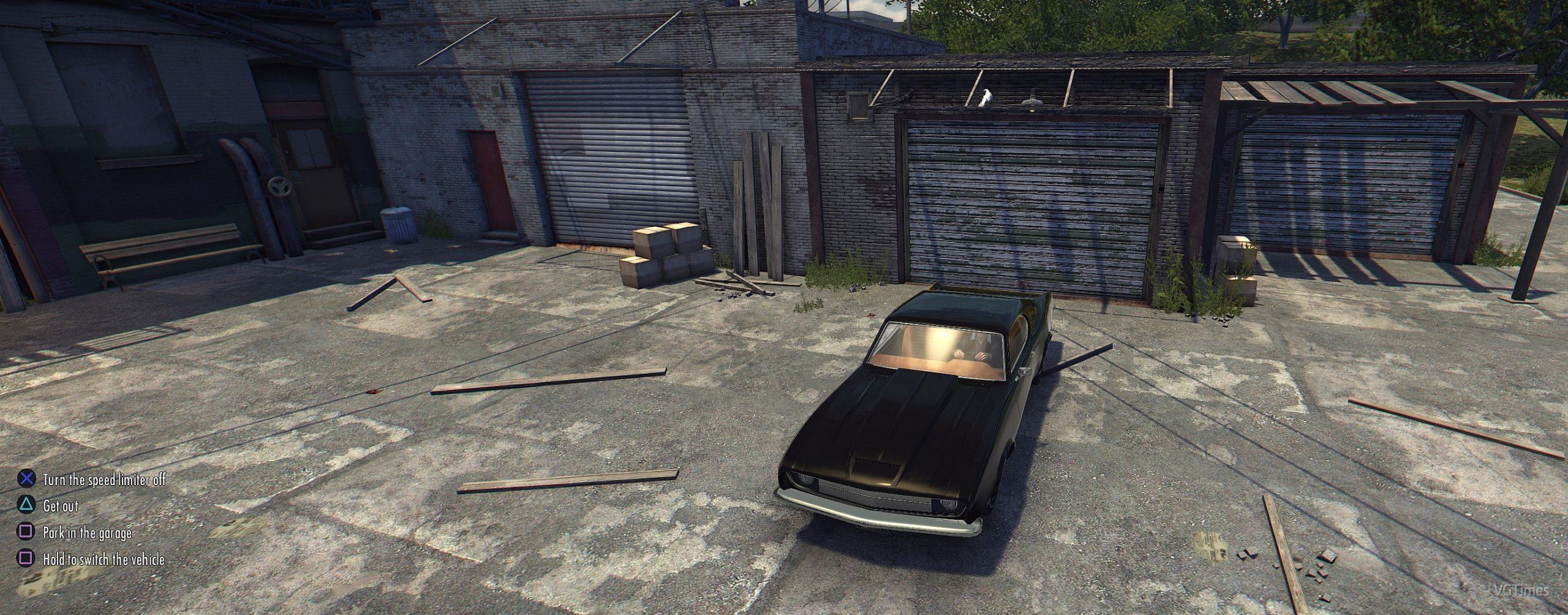 Иконки и поддержка джойстика PS4 для Mafia 2 Definitive Edition
