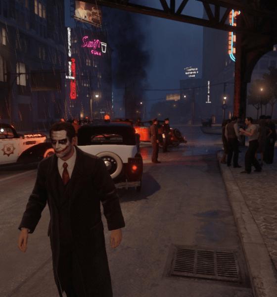 Джокер в Mafia: Definitive Edition