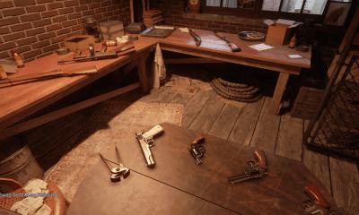 Хромированное оружие в Mafia: Definitive Edition